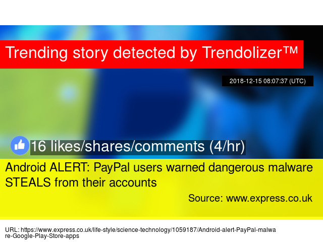 Android ALERT: PayPal users warned dangerous malware STEALS from