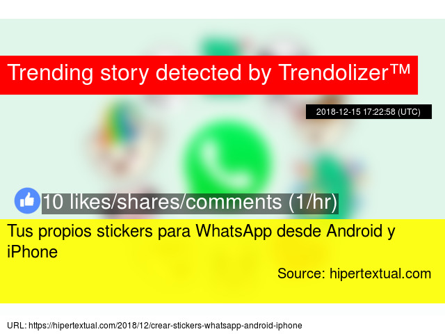 hacer stickers para whatsapp iphone