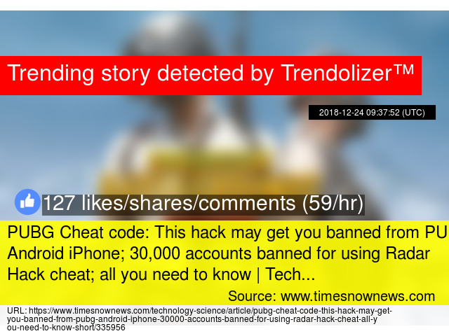 PUBG Cheat code: This hack may get you banned from PUBG