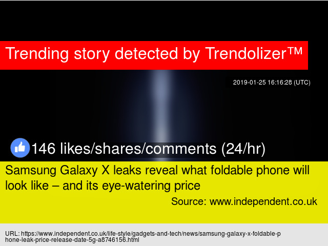 Samsung Galaxy X leaks reveal what foldable phone will look like