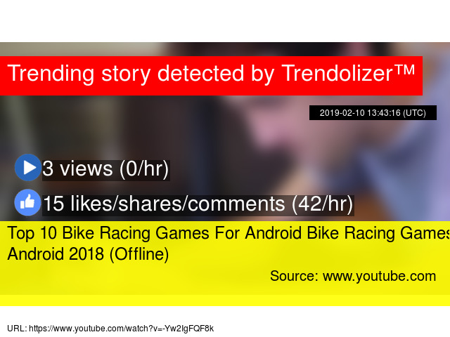 Top 10 Bike Racing Games For Android Bike Racing Games Android 2018