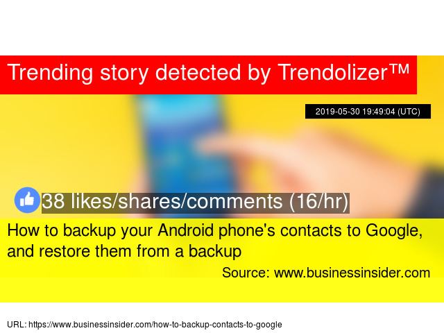 How to backup your Android phone'