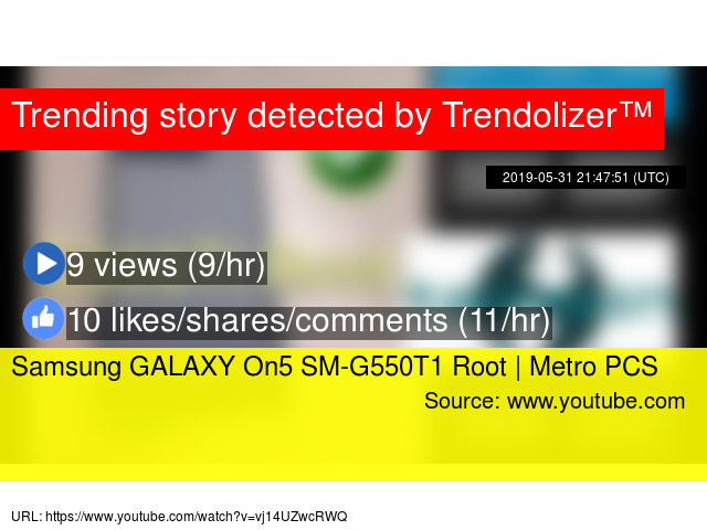 Samsung GALAXY On5 SM-G550T1 Root | Metro PCS