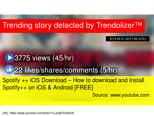 Spotify ++ iOS Download – How to download and Install
