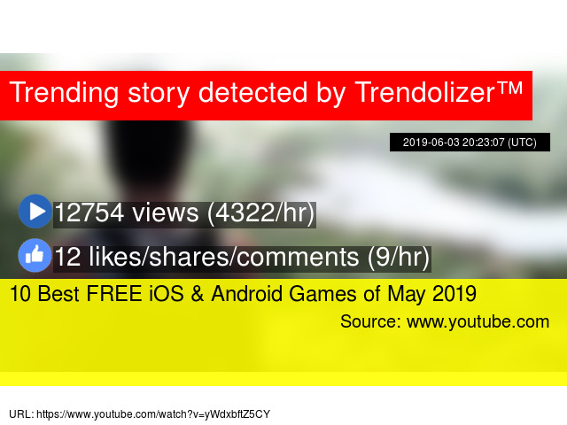 10 Best FREE iOS & Android Games of May 2019