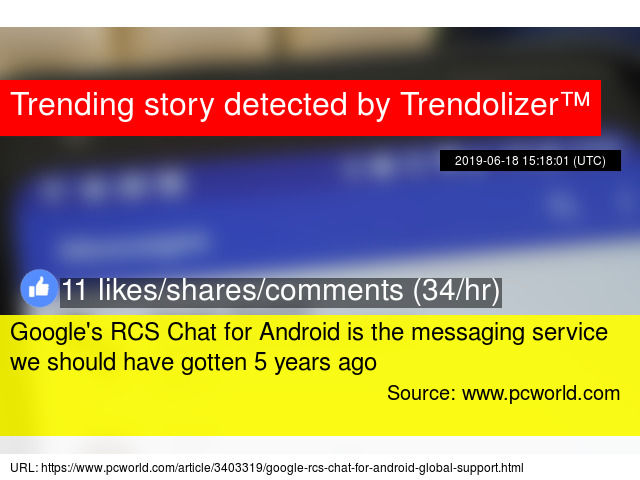Google's RCS Chat for Android is the messaging service we should