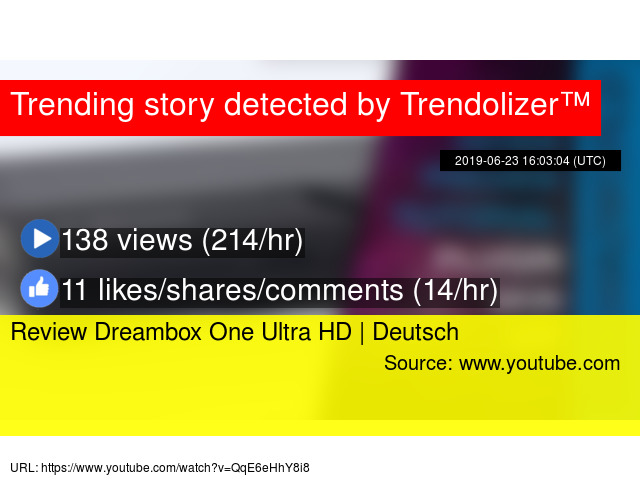 Review Dreambox One Ultra HD | Deutsch