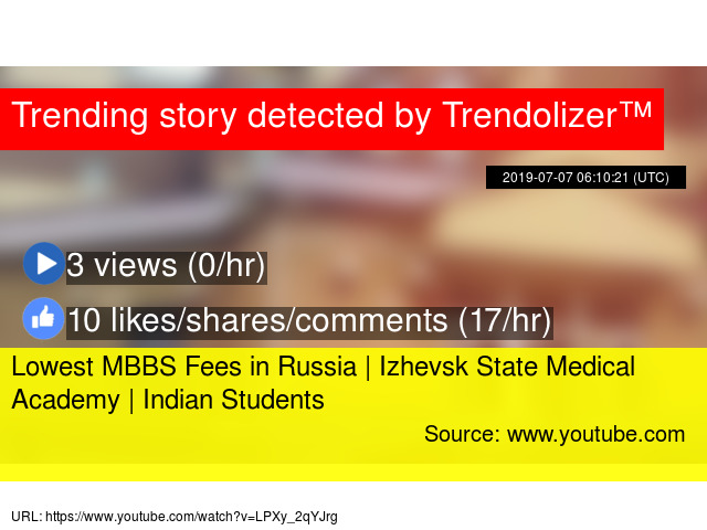 Lowest MBBS Fees in Russia | Izhevsk State Medical Academy