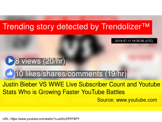 Live youtube stats