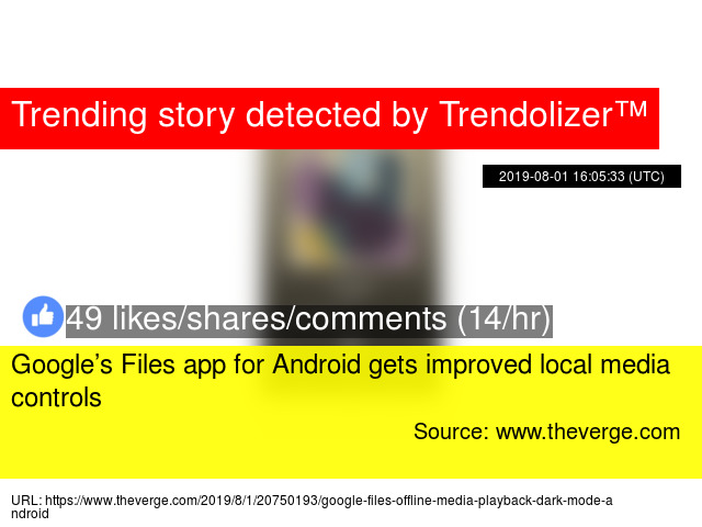 Google's Files app for Android gets improved local media