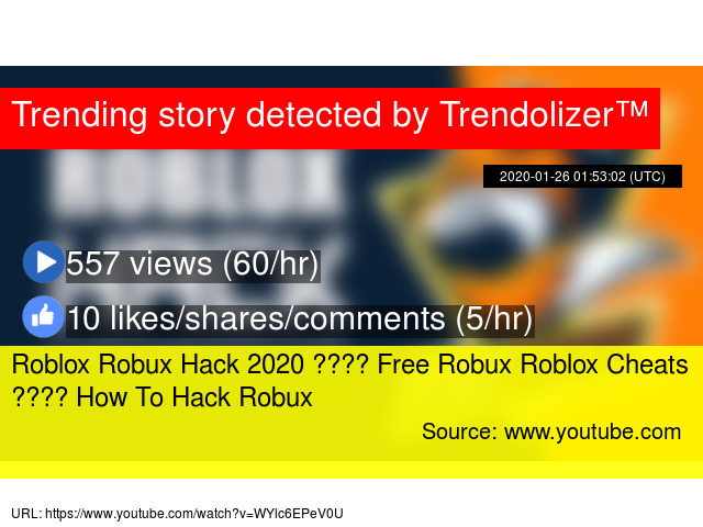 Roblox Robux Hack 2020 Free Robux Roblox Cheats How To