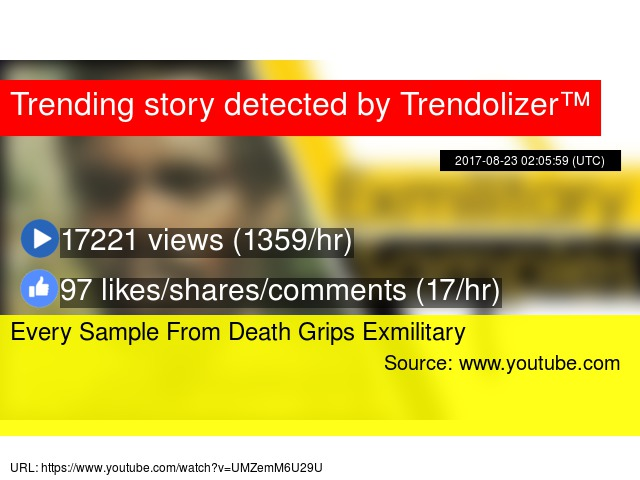 Every Sample From Death Grips Exmilitary