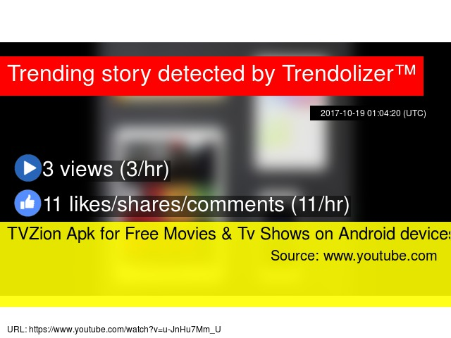 TVZion Apk for Free Movies & Tv Shows on Android devices