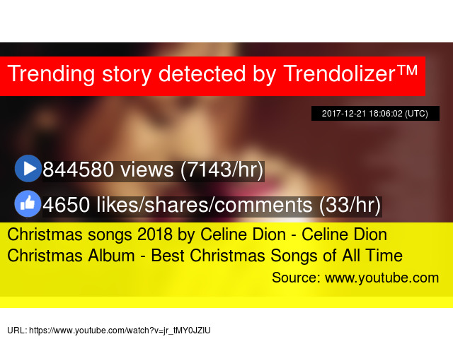 christmas songs 2018 by celine dion celine dion christmas album best christmas songs of all time - Youtube Best Christmas Songs