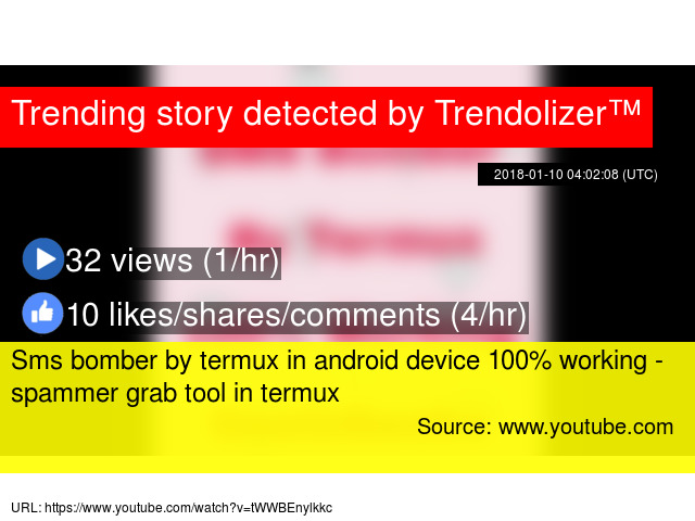 Sms bomber by termux in android device 100% working