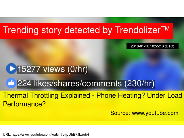 Thermal Throttling Explained - Phone Heating? Under Load