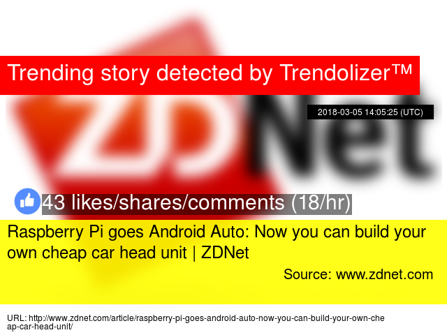 Raspberry Pi goes Android Auto: Now you can build your own