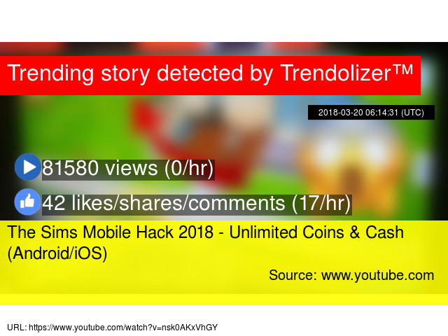 The Sims Mobile Hack 2018 - Unlimited Coins & Cash (Android/iOS)