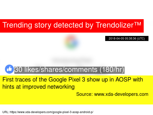 First traces of the Google Pixel 3 show up in AOSP with hints at