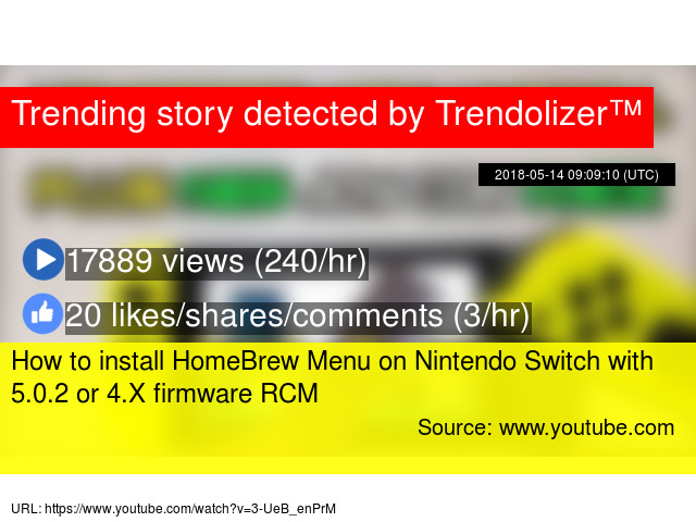 Homebrew Menu Switch